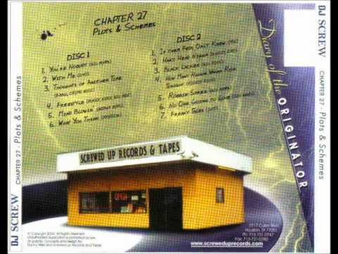 DJ Screw - Plots & Schemes (Disk 1 & 2)