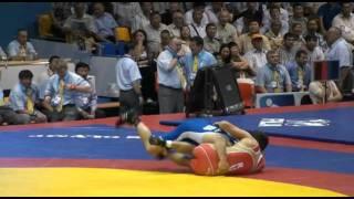 Russian Wrestling Highlights In Slo Flo 2011