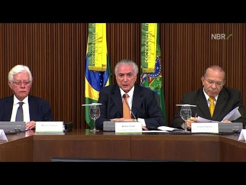 Brazil's Temer launches reforms to save economy