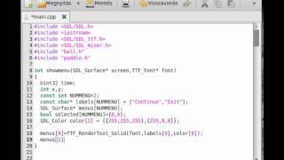 видео SDL: Как создать игру. Крестики-нолики.