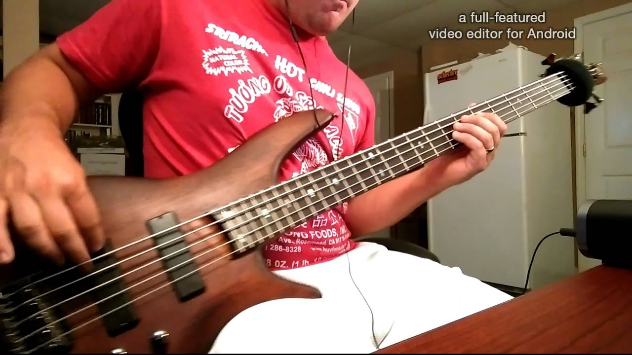 breaking benjamin failure bass cover youtube