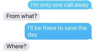 "PRANK TEXTING LINDSEY WITH Charlie Puth ""One Call Away"" LYRICS!"