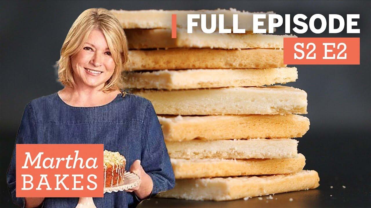 "Download Martha Stewart Makes Shortbread Cookies 3 Ways | Martha Bakes S2E2 ""Shortbread"""