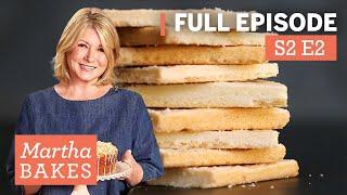 Martha Stewart Makes Shortbread Cookies 3 Ways   Martha Bakes Classic Episodes