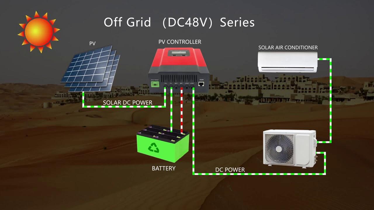 Off-Grid Solar Air Conditioner - Lion Solar Air Conditioner