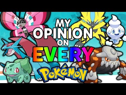 My Opinion on Every Pokémon