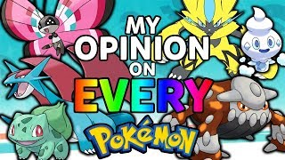 My Opinion on Every Pokémon