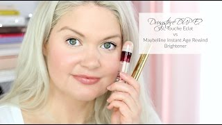 Gambar cover Drugstore Dupe? YSL Touche Eclat vs Maybelline Instant Age Rewind Brightener