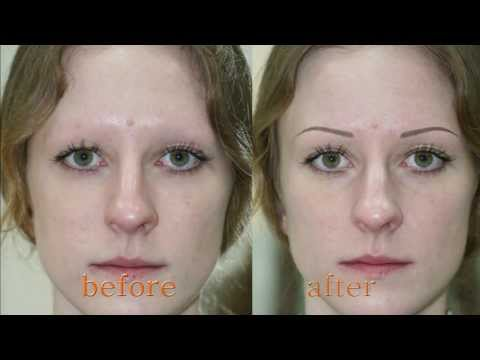Alina Soloveva, permanent makeup of eyebrows