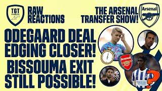 The Arsenal Transfer Podcast EP103: Odegaard, Bissouma, Lacazette, Vlahovic & More