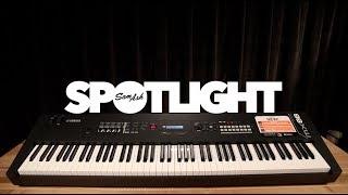 Yamaha MX88 Synthesizer: Overview