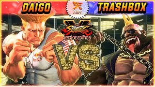 A TWO TITANS SHOWDOWN: DAIGO with GUILE face off against TRASHBOX w...