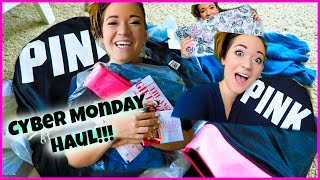 CYBER MONDAY HAUL?! Vlogmas Day 3!! Thumbnail