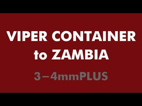 VIPER Wholesale Used Tires by Container  |  ZAMBIA 3-4mmPLUS