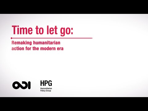 Time to let go: a proposal for change in the humanitarian system