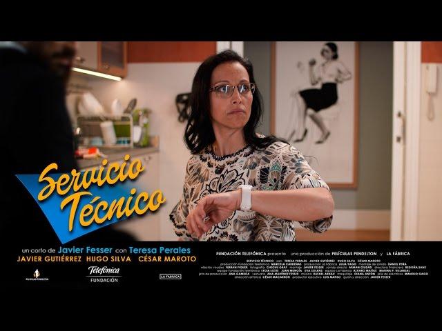 'Servicio Técnico': el cortometraje de #PeralesyFesser