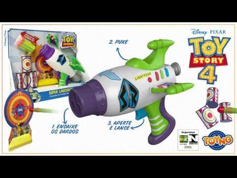 Toy Story 4 - Lança Dardos Buzz Lightyear (REF 38323)