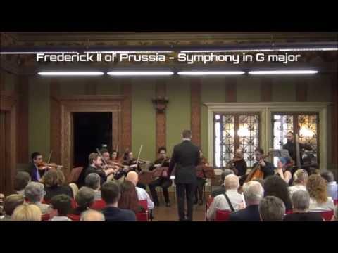 Frederick II of Prussia - Symphony in G major (S. Zuccatti, conductor)