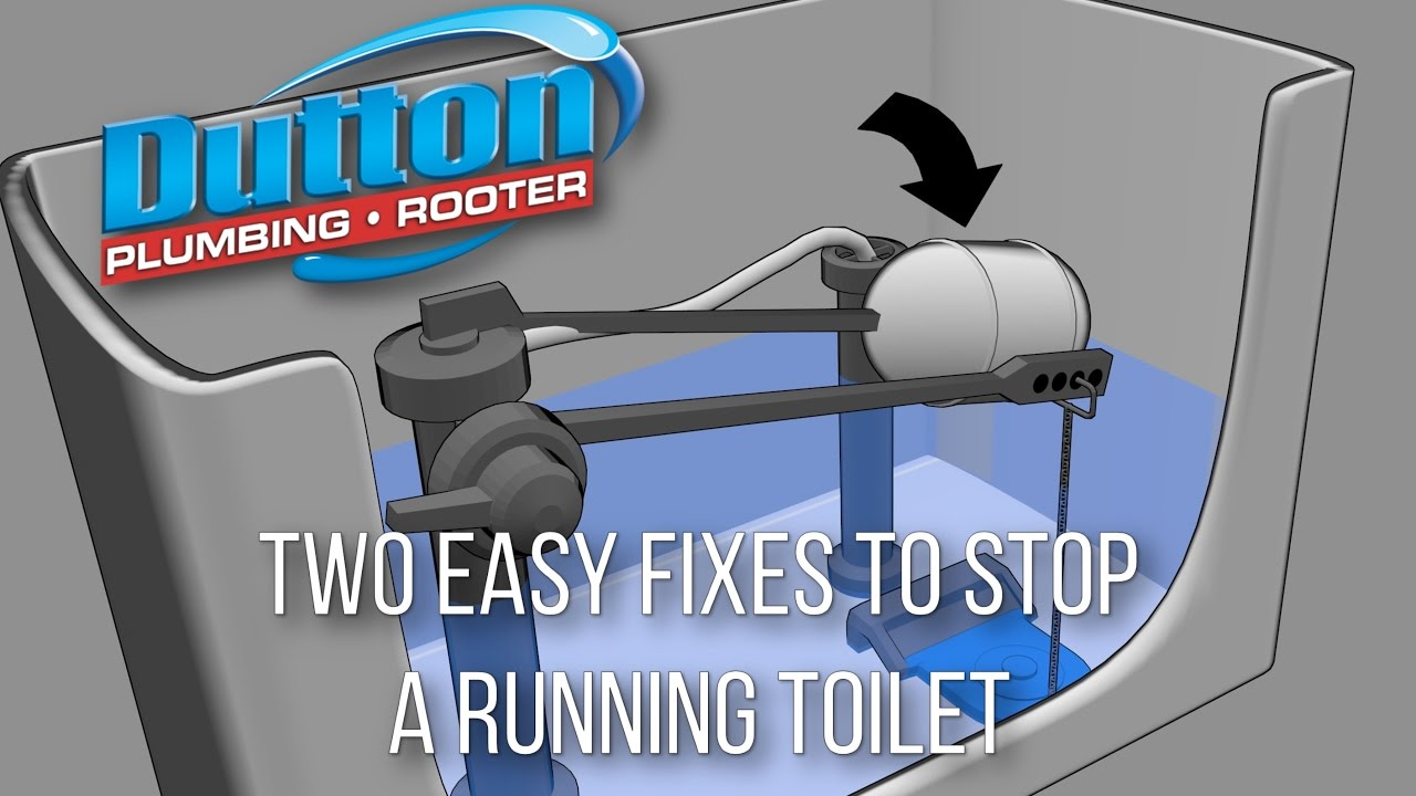 how to stop your toilet from running