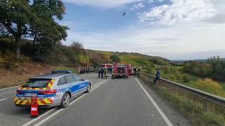 Tödlicher Unfall auf der B 41