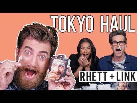 TOKYO Haul With Rhett & Link | Shay Mitchell