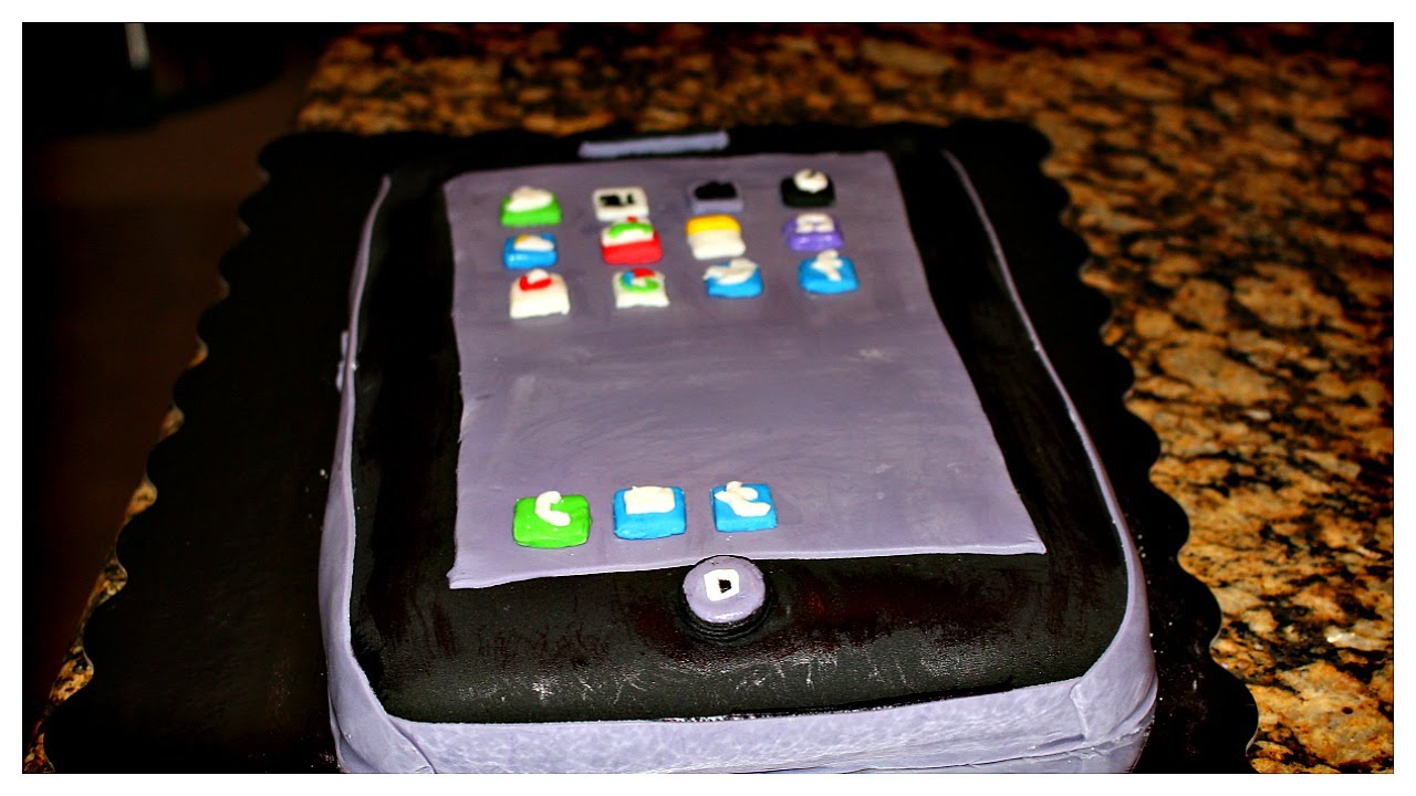 HOW TO MAKE AN IPHONE CAKE HELLO ROBINSONS YouTube