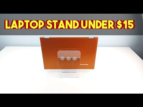 Vertical Laptop Stand  $15 - IKEA Hack