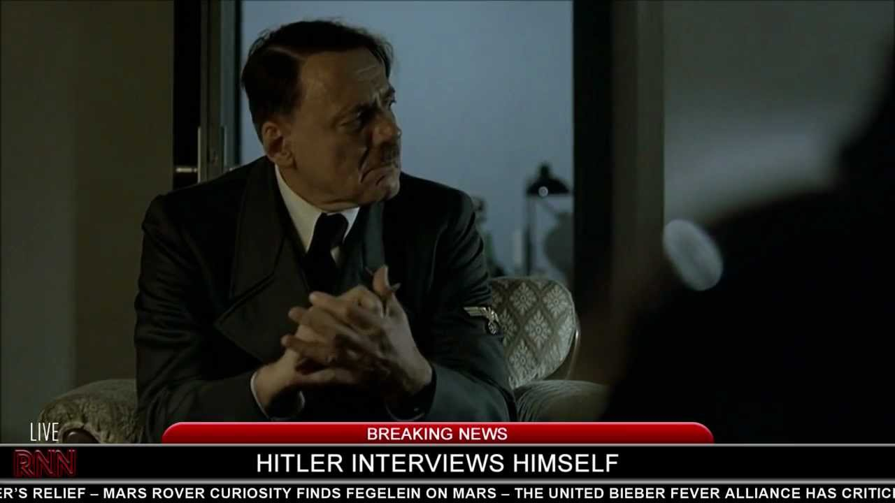 Hitler interviews himself