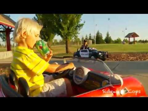 Sidewalk Cops - The Under-Age Drinker, Short Episode