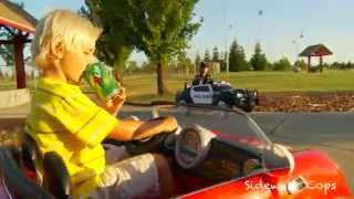 Sidewalk Cops | The Under-Age Drinker | Kids Videos | Police kIds