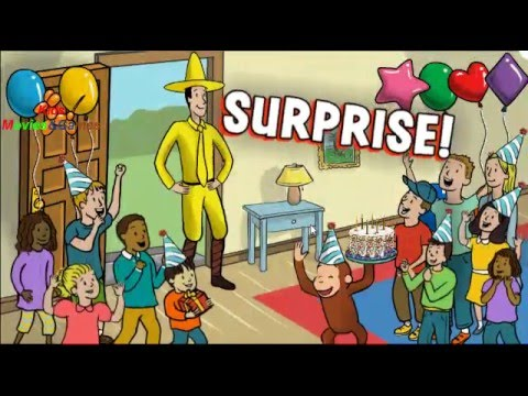Curious George For Kids Education Supprise Party Activities Movies