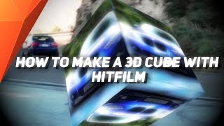 HOW TO MAKE 3D CUBE EFFECT WITH HITFILM!
