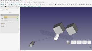 FreeCAD - How to use the Draft Move tool on the Draft Workbench