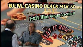 Blackjack Real Live Caṡino #8 - Playing Black Jack just like Clark in Vegas Vacation!