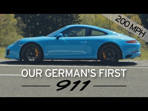 200mph in a 911 GTS - Everyday Driver Europe Review