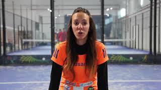 Carla Mesa, jugadora profesional y monitora en Gusanillo sport