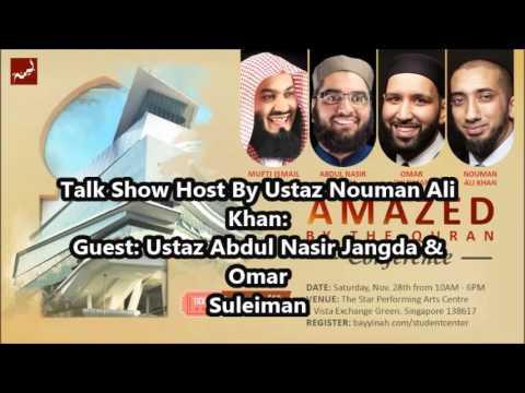 Amazed By The Quran-Talk Show By Ustaz Nouman Ali Khan