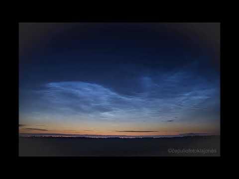 M. Čepulis. Sidabriškieji debesys – klimato kaitos pranašai -  LRT © 2018