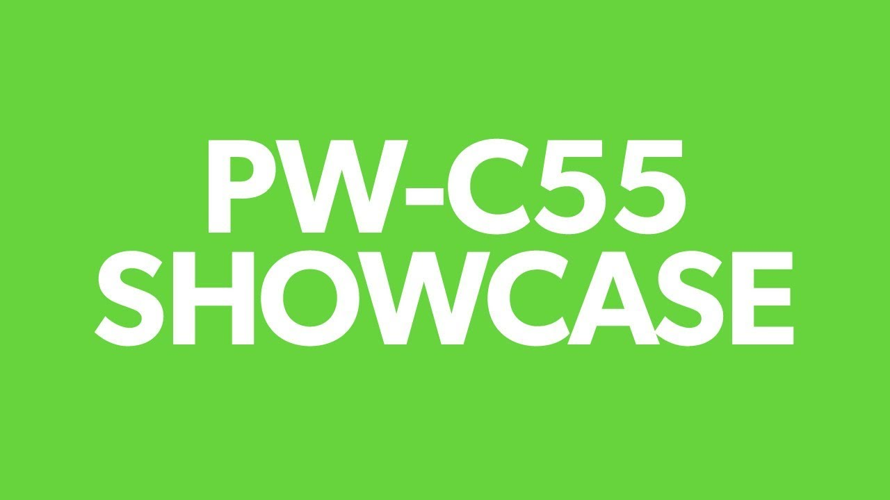 PW-C55: the smart pressure washer