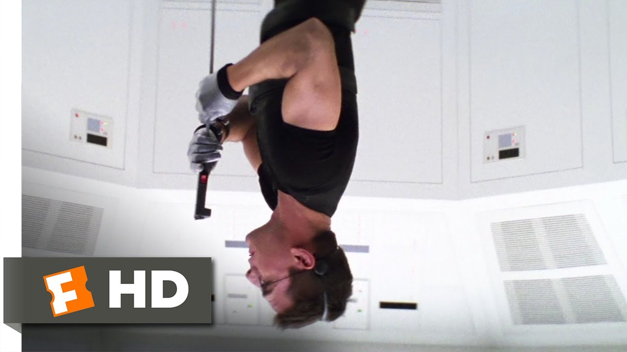 Mission: Impossible (1996) - Into the Vault Scene (4/9) | Movieclips