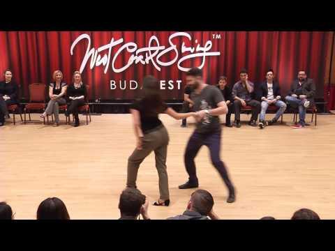 Ben Morris & Torri Smith  Budafest 2017 Pro Jack & Jill