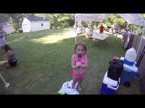 Kick the Dust Up - Luke Bryan's biggest little fan