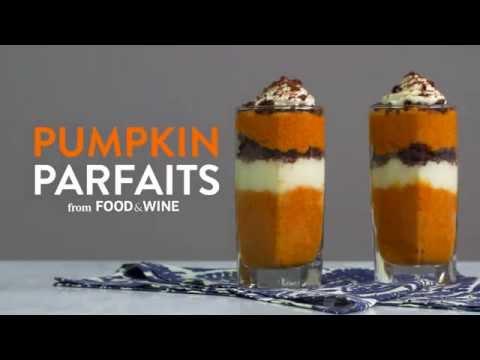 How to Make Pumpkin Parfaits | Food & Wine
