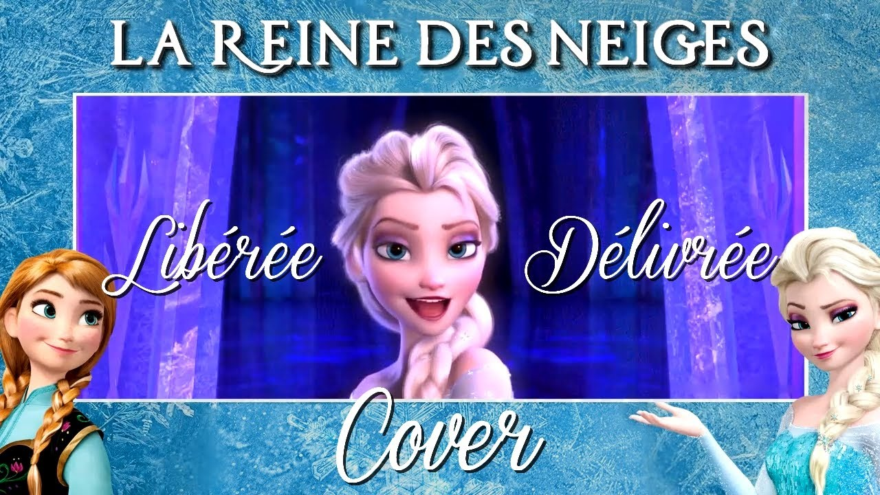 cover lib r e d livr e let it go la reine des neiges frozen youtube. Black Bedroom Furniture Sets. Home Design Ideas