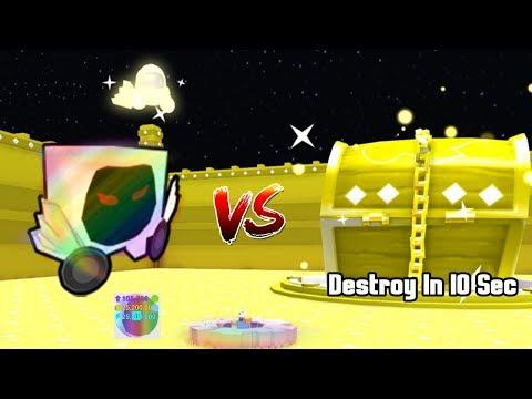 Rainbow Dominus Huge VS Dominus Chest! Destroy In 10 Sec? - Pet Simulator