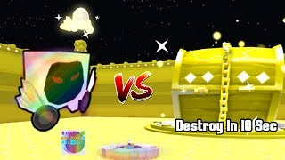 Rainbow Dominus Huge VS Dominus Chest! Destroy In 10 Sec? - Pet Simulator