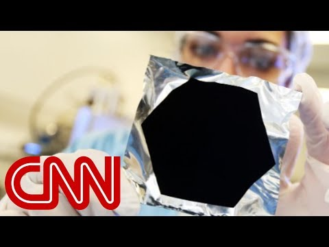 Darkest thing on Earth helps see into space