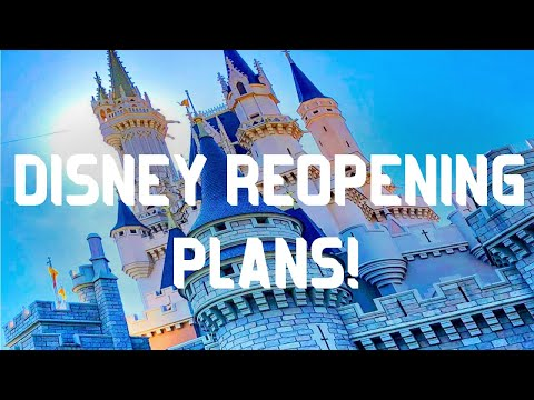 DISNEY BREAKING NEWS! WALT DISNEY WORLD SUBMITS PLANS FOR REOPENING! UNIVERSAL OPENING! | VIDEO #118