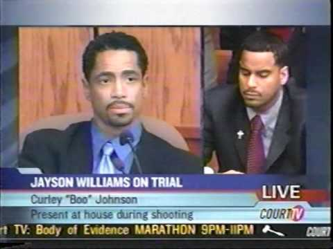 Curley Boo Johnson Testimony on Court TV 2004