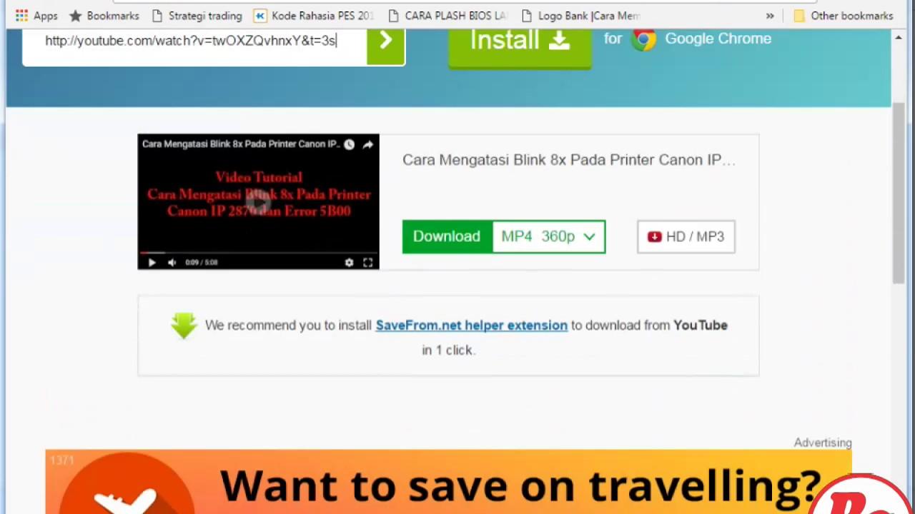 Cara download youtube tanpa aplikasi